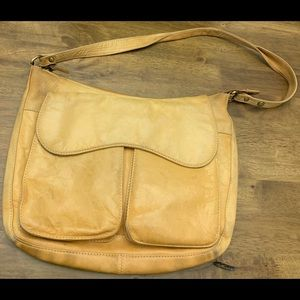 north style distressed leather bag